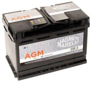 Акумулатор за кола Magneti Marelli AGM60R