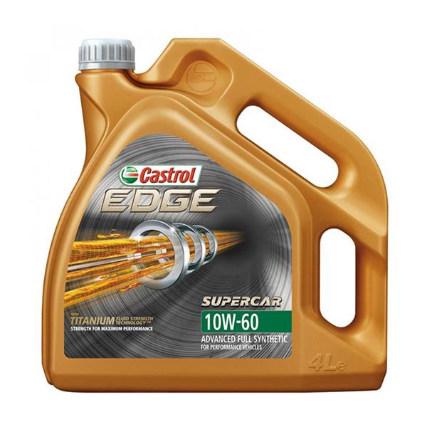 моторно масло CASTROL EDGE SUPERCAR 10W60 4L