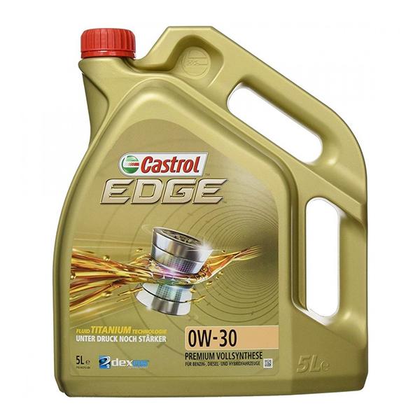 моторно масло CASTROL EDGE TITANIUM 0W30 5L
