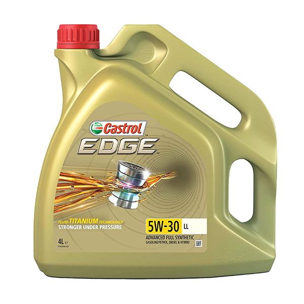 моторно масло CASTROL EDGE TITANIUM 5W30 LL 4L