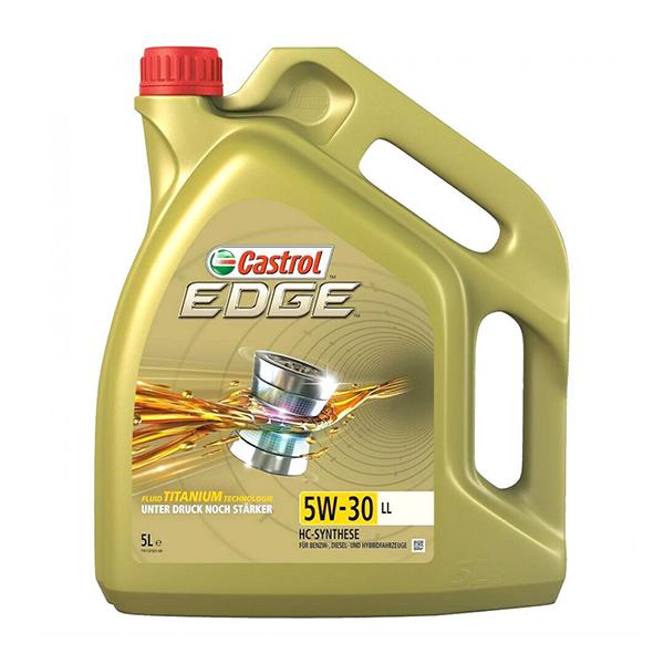 моторно масло CASTROL EDGE TITANIUM 5W30 LL 5L