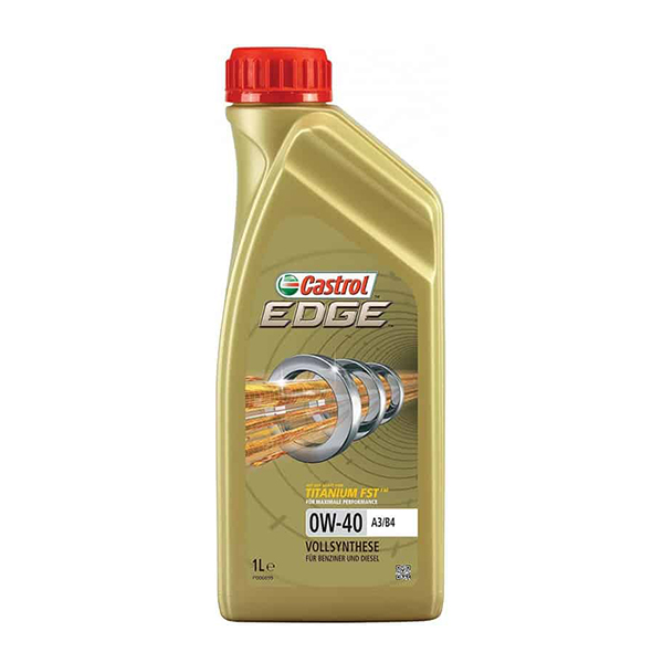 моторно масло CASTROL EDGE TITANIUM FST 0W40 1L