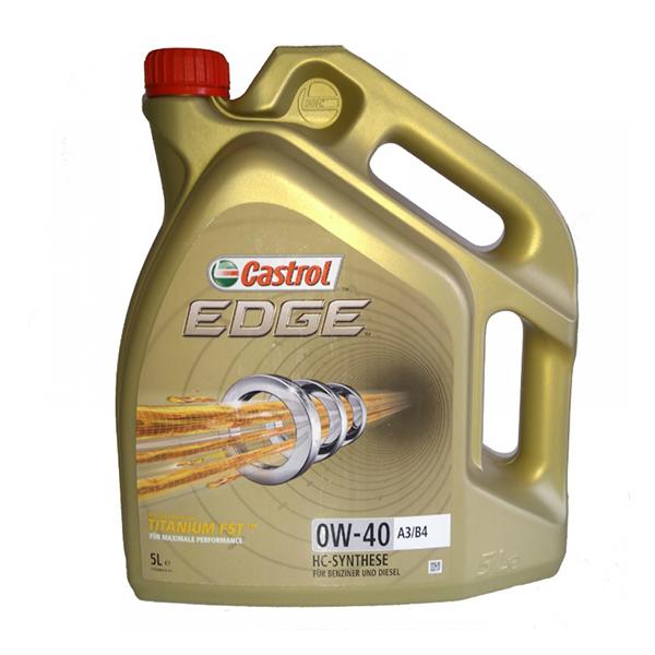 моторно масло CASTROL EDGE TITANIUM FST 0W40 5L