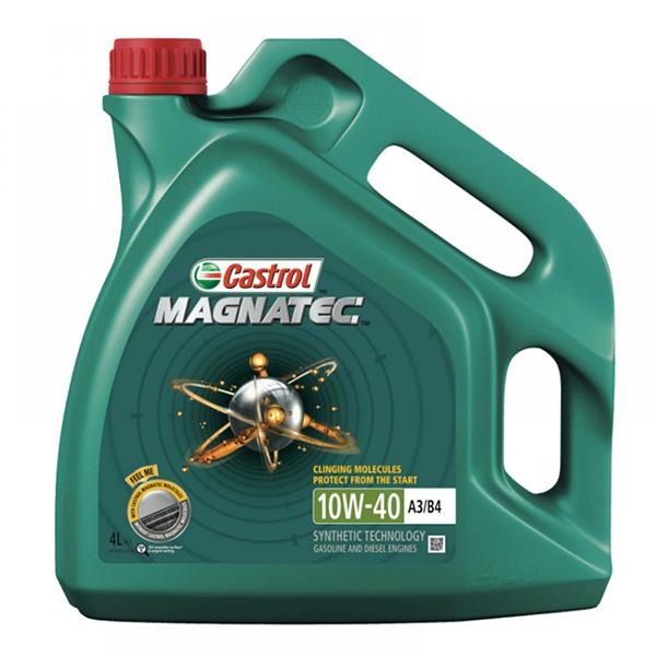 моторно масло CASTROL MAGNATEC 10W40 4L