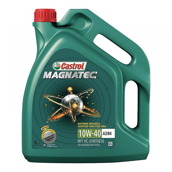 моторно масло CASTROL MAGNATEC 10W40 5L