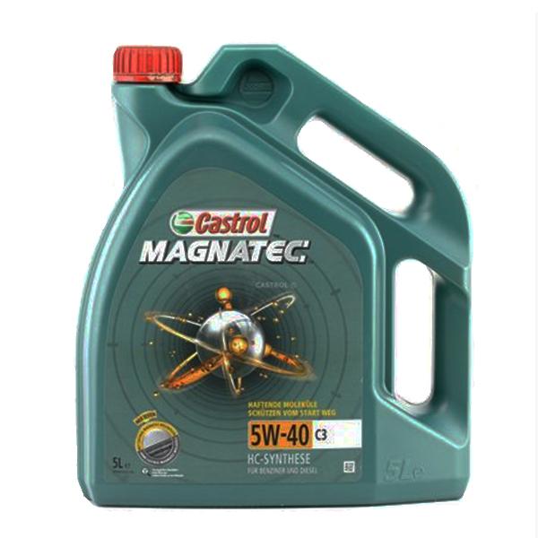 моторно масло CASTROL MAGNATEC 5W40 C3 5L