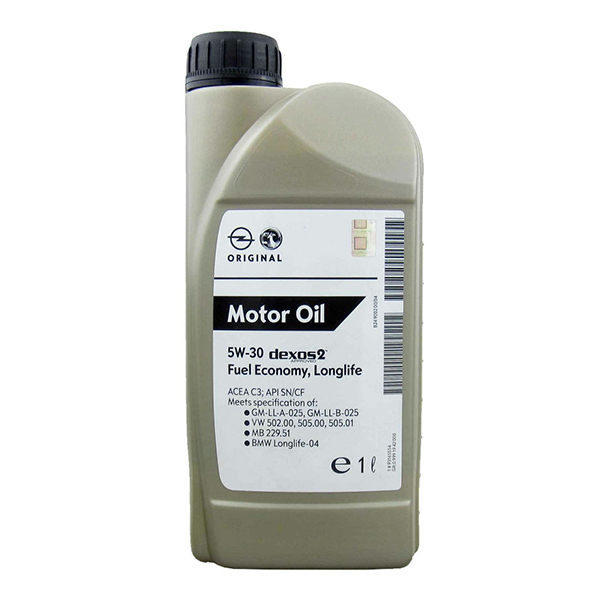 Моторно масло GM 5W30 DEXOS2