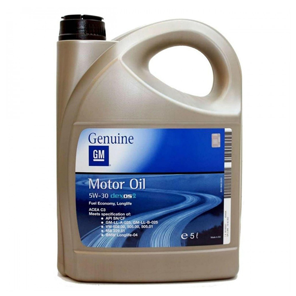 Оригинално масло GM 5W30 DEXOS2