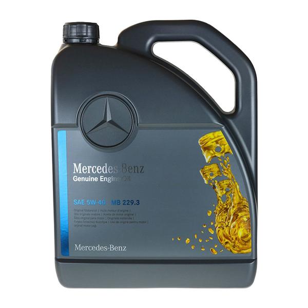 Моторно масло MERCEDES BENZ 229.3 5W40 5L