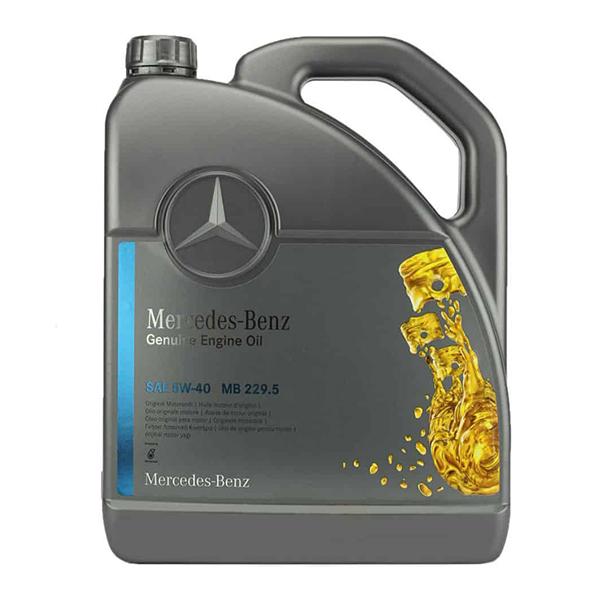 Моторно масло MERCEDES BENZ 229.5 5W40 5L