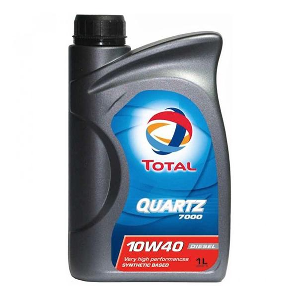 моторно масло TOTAL QUARTZ 7000 DIESEL 10W40 1л