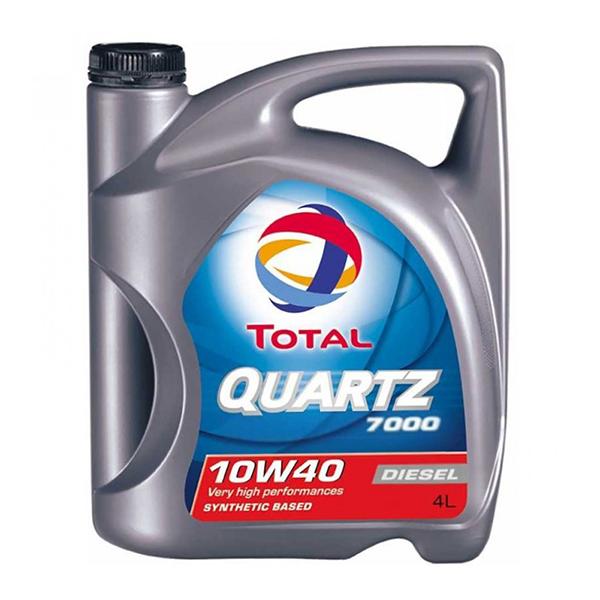 моторно масло TOTAL QUARTZ 7000 DIESEL 10W40 4л