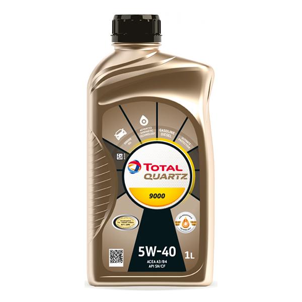 моторно масло TOTAL QUARTZ 9000 5W40 1л