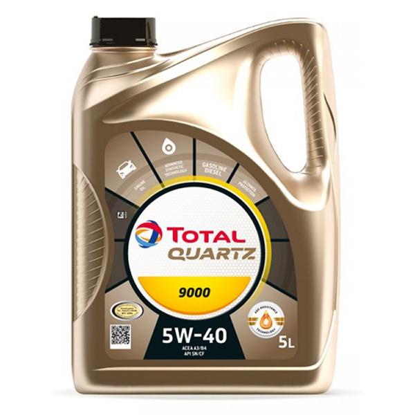 моторно масло TOTAL QUARTZ 9000 5W40 5л
