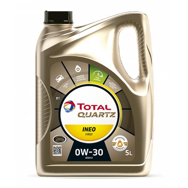 моторно масло TOTAL QUARTZ INEO FIRST 0W30 5L