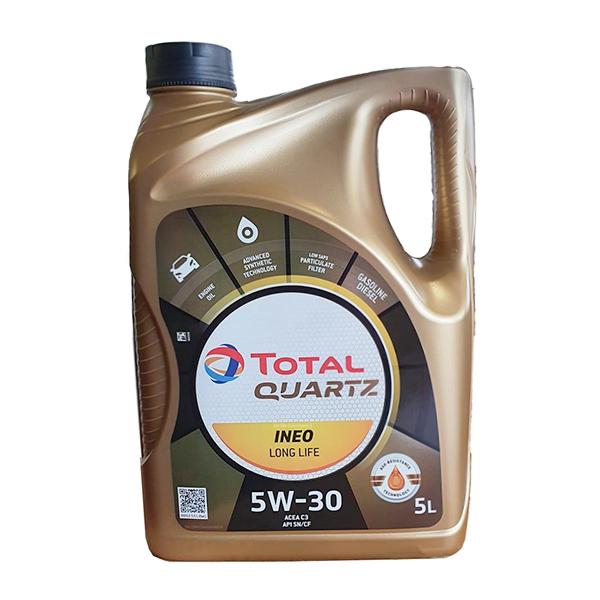 Моторно масло TOTAL QUARTZ INEO LONG LIFE 5W30 5L