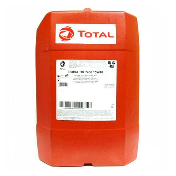 Моторно масло TOTAL RUBIA TIR 7400 15W40
