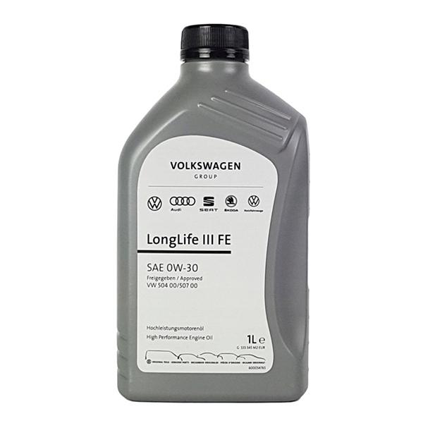 Оригинално моторно масло VAG LONGLIFE III FE 0W30 1L