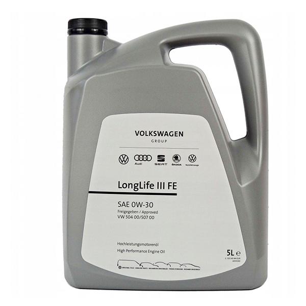 Моторно масло VAG LONGLIFE III FE 0W30 5L