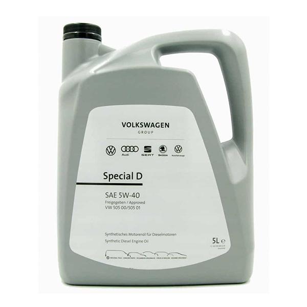 Оригинално масло VAG SPECIAL D 5W40 5L