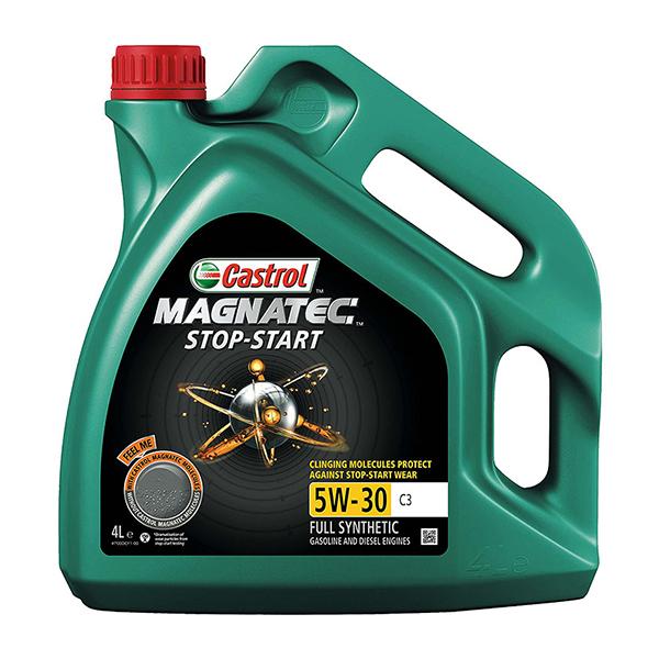 моторно масло CASTROL, 5W30, C3, MAGNATEC, STOP-START 4L