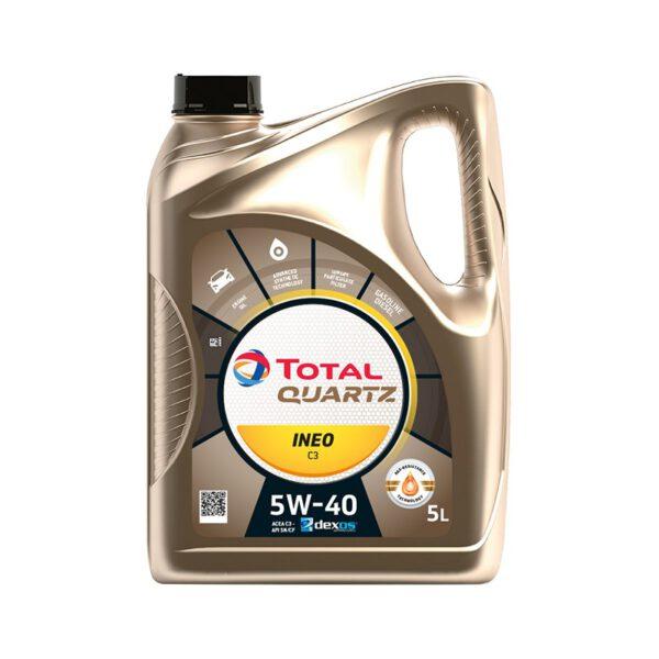 Моторно масло TOTAL QUARTZ INEO MC3 5W40 5л