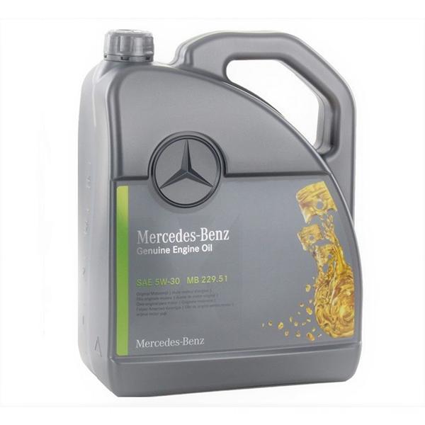 Двигателно масло MERCEDES BENZ MB 229.51 5W30 5L