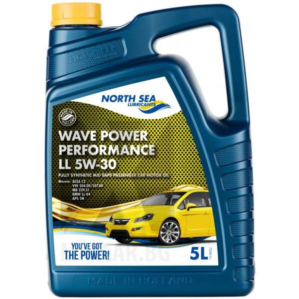 моторно масло NORTH SEA PERFORMANCE LL 5W30 5л