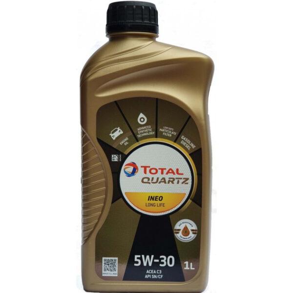 моторно масло TOTAL QUARTZ INEO LONG LIFE 5W30 1л