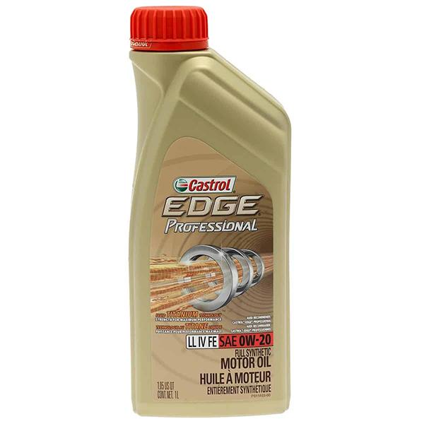 моторно масло CASTROL EDGE PROFESSIONAL LL IV FE 0W20 1L