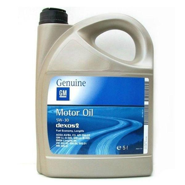 Оригинално моторно масло GM DEXOS 1 GEN 2 5W30 5L