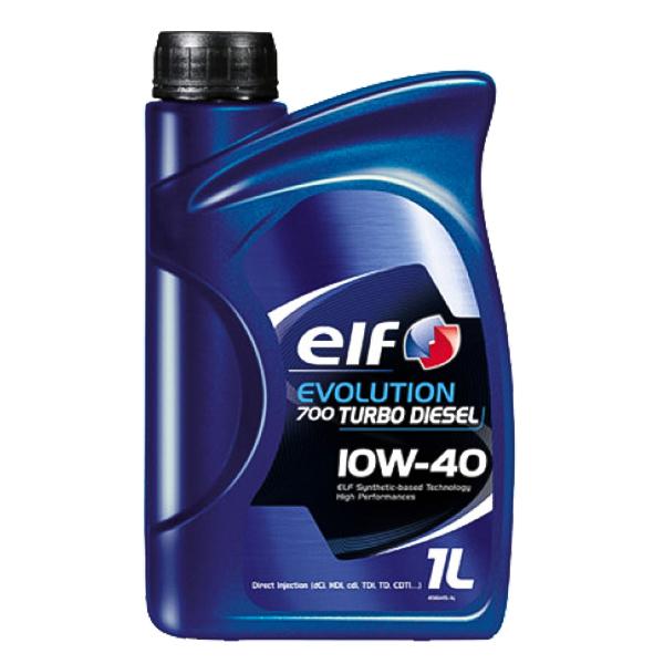 моторно масло ЕLF ЕVОLUТІОN 700 ТURВО DІЕЅЕL 10W40 1L