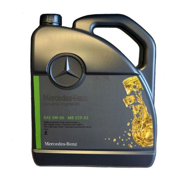 Двигателно масло MERCEDES BENZ 229.52 5W30 5L