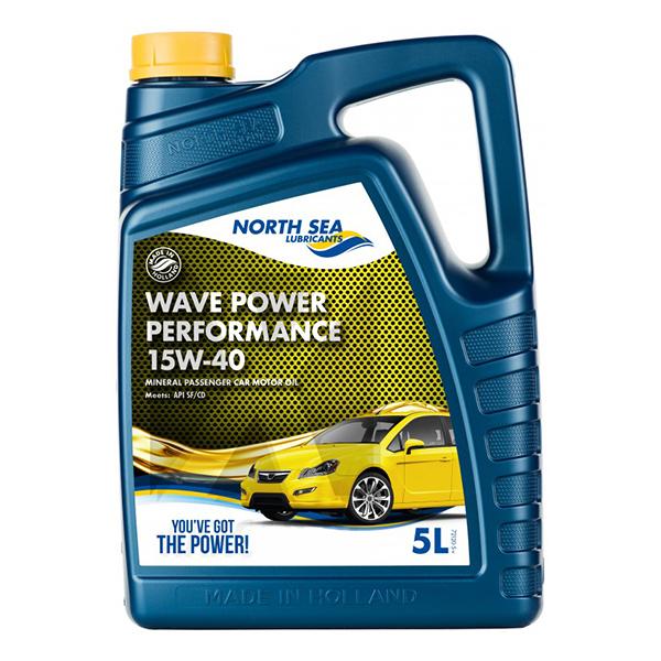 моторно масло NORTH SEA WAVE POWER PERFORMANCE 15W40 5L