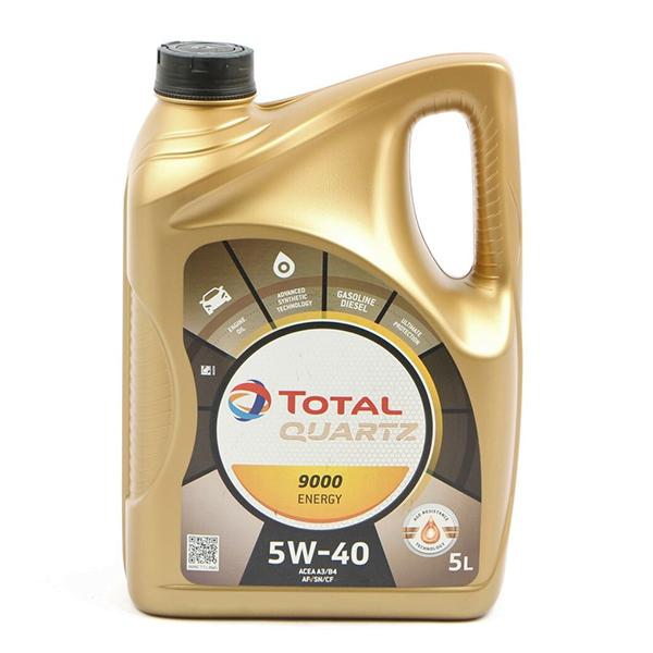 моторно масло TOTAL QUARTZ 9000 5W40 Energy 5л