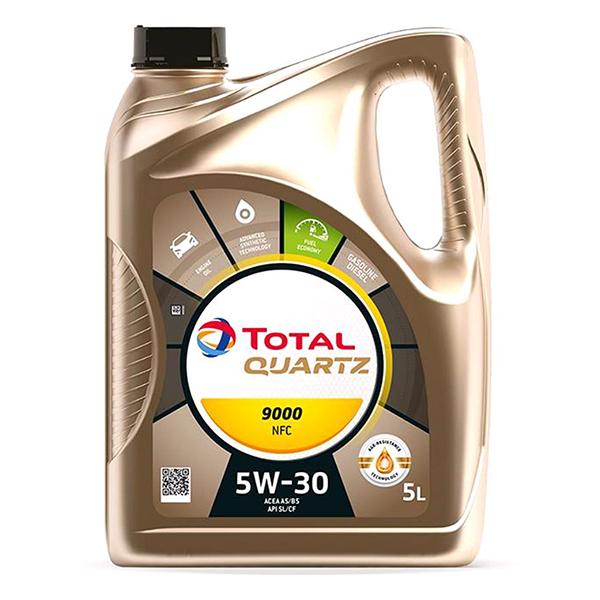 моторно масло TOTAL QUARTZ 9000 FUТURЕ NFС 5L