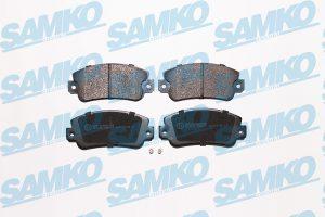 Спирачни накладки SAMKO - 5SP007