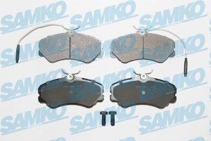 Спирачни накладки SAMKO - 5SP011