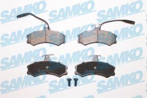 Спирачни накладки SAMKO - 5SP012