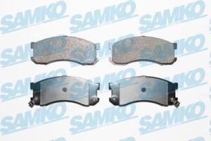 Спирачни накладки SAMKO - 5SP041