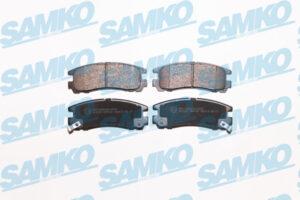 Спирачни накладки SAMKO - 5SP043