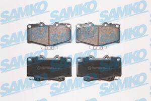 Спирачни накладки SAMKO - 5SP058