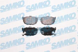 Спирачни накладки SAMKO - 5SP089