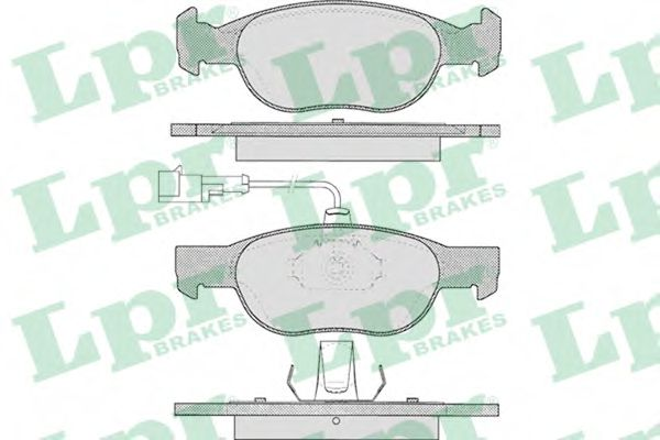 Спирачни накладки SAMKO - 5SP1075
