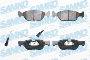 Спирачни накладки SAMKO - 5SP1076
