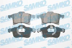 Спирачни накладки SAMKO - 5SP1197