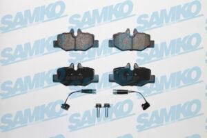 Спирачни накладки SAMKO - 5SP1246