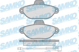 Спирачни накладки SAMKO - 5SP1262