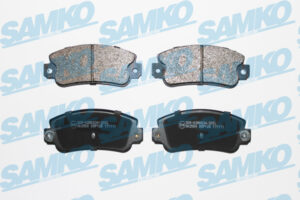 Спирачни накладки SAMKO - 5SP128