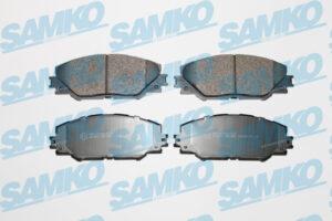 Спирачни накладки SAMKO - 5SP1282